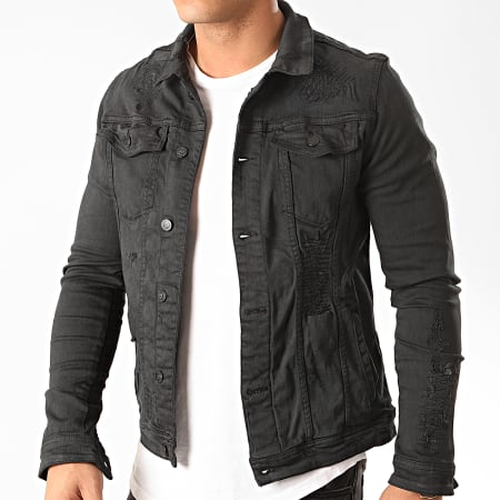 Uniplay - Veste Jean 136 Noir