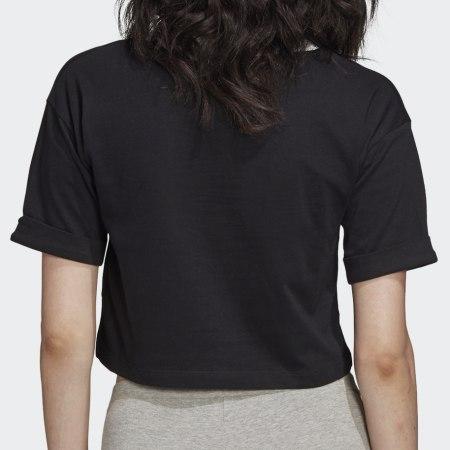*adidas - Tee Shirt Crop Femme FM2557 Noir