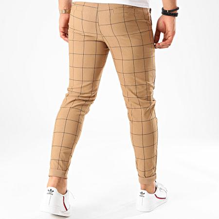 Frilivin - Pantalon A Carreaux 1719 Camel