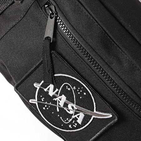 NASA - Sacoche Banane Velcro Desaturate Noir