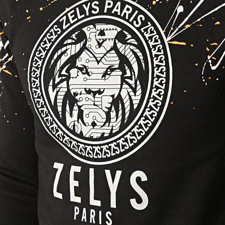 Zelys Paris - Sweat Crewneck Réfléchissant Squad Noir