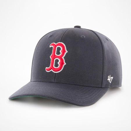 '47 Brand - Casquette MVP Adjustable CLZOE02WBP Boston Red Sox Bleu Marine
