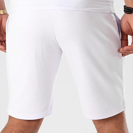 Final Club - Short Jogging Premium Fit Avec Broderie 366 Blanc