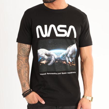 NASA - Tee Shirt Astronaut Hands Noir