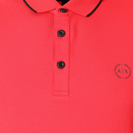 Armani Exchange - Polo Manches Courtes 8NZF70-Z8M97Z Rouge