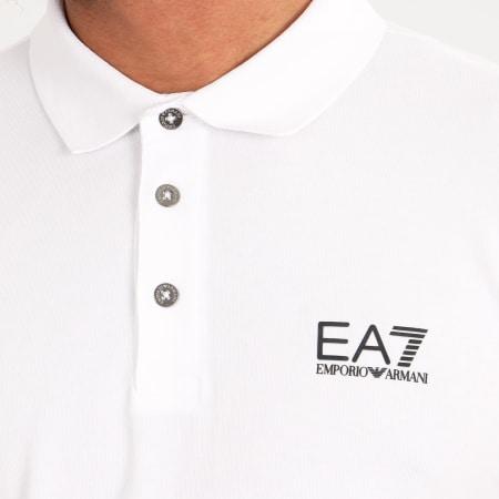 EA7 - Polo Manches Courtes 8NPF04-PJM5Z Blanc