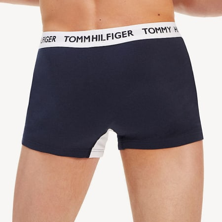 Tommy Hilfiger - Boxer 1832 Bleu Marine Blanc