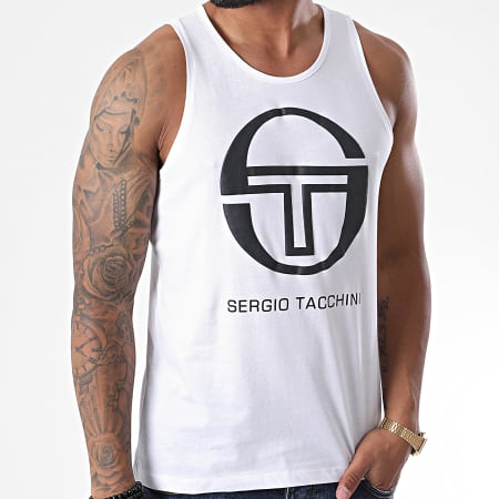 Sergio Tacchini - Débardeur Funes Blanc
