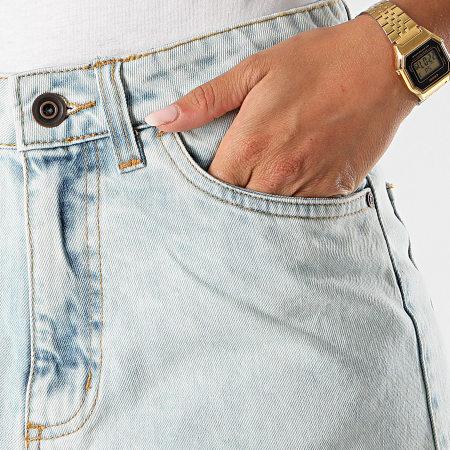 Urban Classics - Short Jean Femme TB2000 Bleu Wash