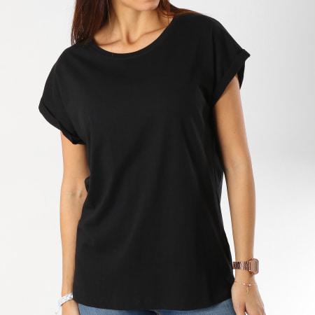 Urban Classics - Tee Shirt Femme TB771 Noir