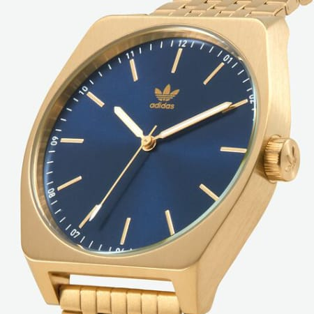 adidas - Montre Process M1 Z02-2913 Gold Navy Sunray