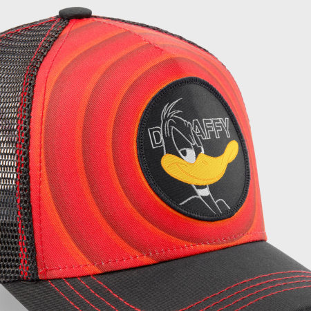 Looney Tunes - Casquette Trucker Daffy Noir Rouge