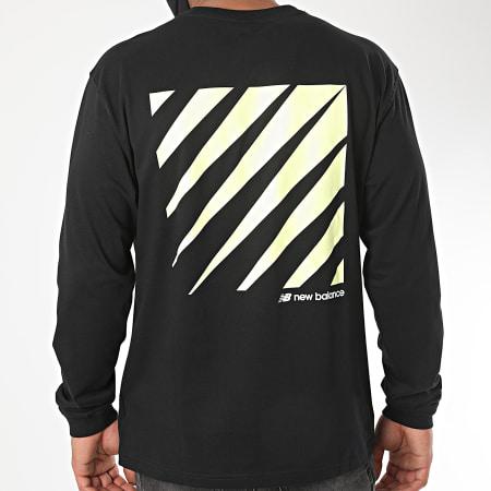 New Balance - Tee Shirt Manches Longues 782750 Noir