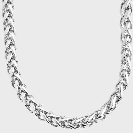 California Jewels - Collier Franco 8mm Argenté