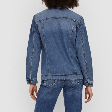 Noisy May - Chemise Jean Femme Mole 27001426 Bleu Denim