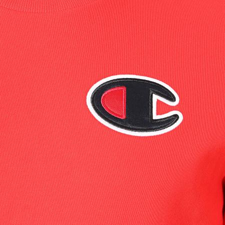 Champion - Sweat Crewneck 214189 Rouge