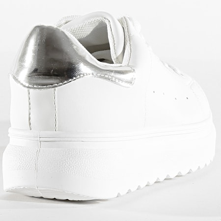 Classic Series - Baskets Femme CNT-21C White Silver
