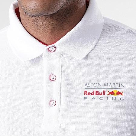 Red Bull Racing - Polo Manches Courtes Aston Martin x Red Bull Racing Blanc