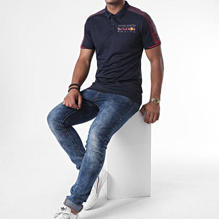 Red Bull Racing - Polo Manches Courtes Aston Martin x Red Bull Racing Bleu Marine