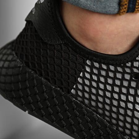 adidas - Baskets Deerupt Runner EG5355 Core Black Silver Metallic