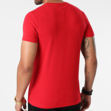 Tommy Hilfiger - Tee Shirt MW0MW10800 Rouge