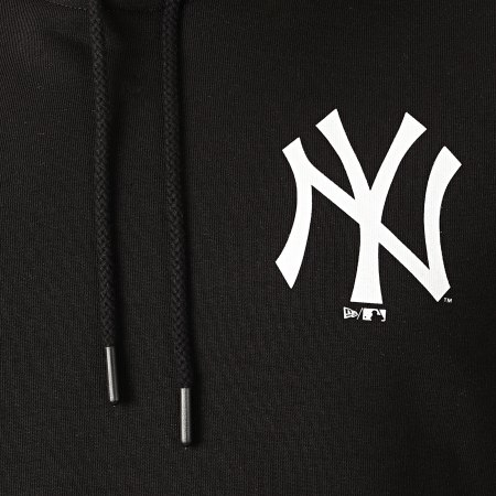 New Era - Sweat Capuche A Bande Taped 12369827 New York Yankees Noir