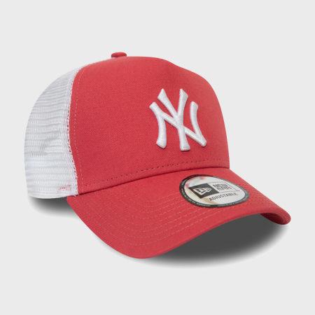 New Era - Casquette Trucker League Essential 12381027 New York Yankees Rouge
