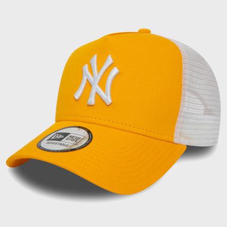 New Era - Casquette Trucker League Essential 12381031 New York Yankees Jaune
