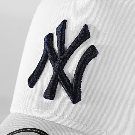 New Era - Casquette Trucker League Essential 12381026 New York Yankees Blanc
