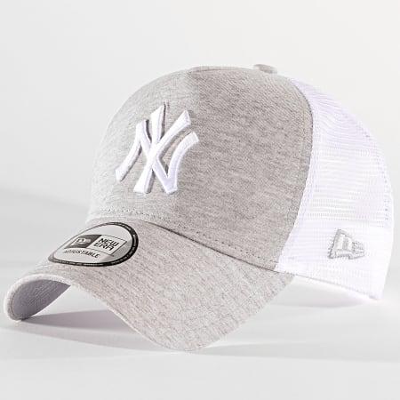 New Era - Casquette Trucker Jersey Essential 1231106 New York Yankees Gris Clair