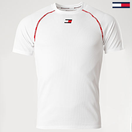 Tommy Sport - Tee Shirt 0459 Blanc