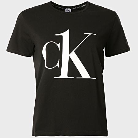 Calvin Klein - Tee Shirt Femme 6436 Noir