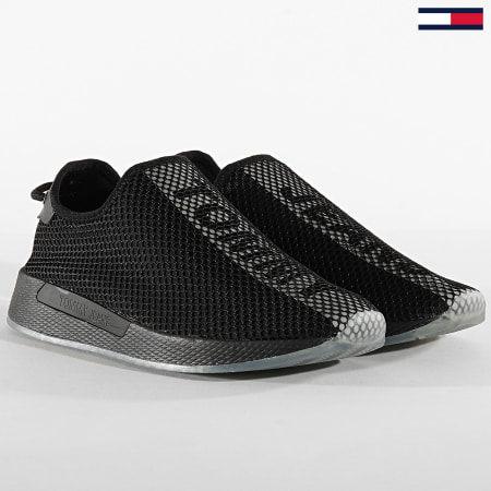 Tommy Jeans - Baskets Technical Mesh Flexi 0529 Black