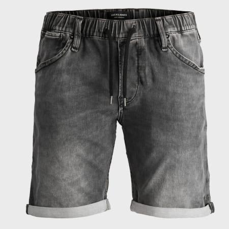 Jack And Jones - Short Jean Rick Dash 12169326 Noir