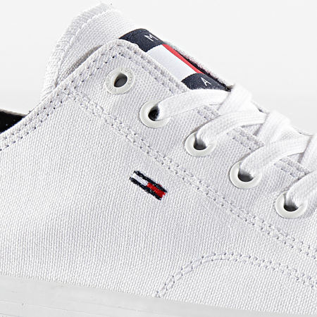 Tommy Jeans - Baskets Long Lace Up 0486 Blanc