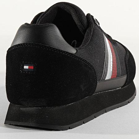 Tommy Hilfiger - Baskets Corporate Material Mix 2835 Noir