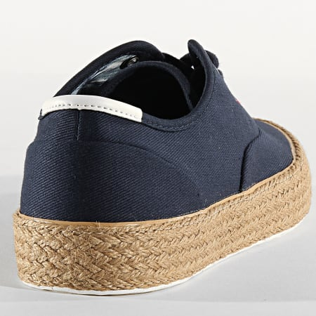Tommy Hilfiger - Baskets Oxford Twill Just 2883 Desert Sky