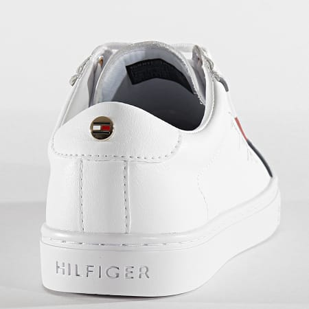 Tommy Hilfiger - Baskets Femme Signature Sneaker 5015 White