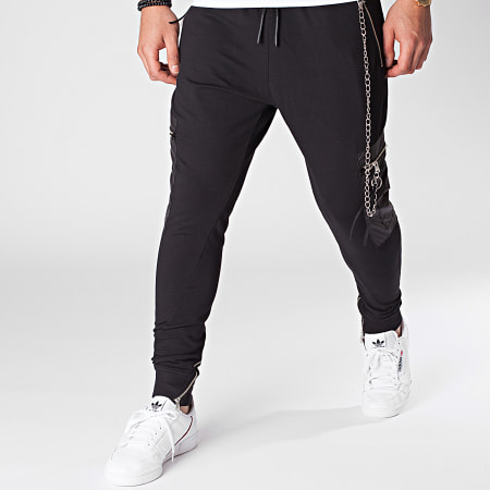 Ikao - Pantalon Jogging F946 Noir