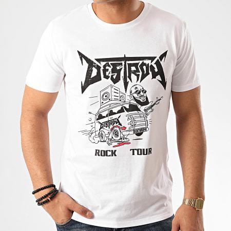 Seth Gueko - Tee Shirt Destroy Blanc