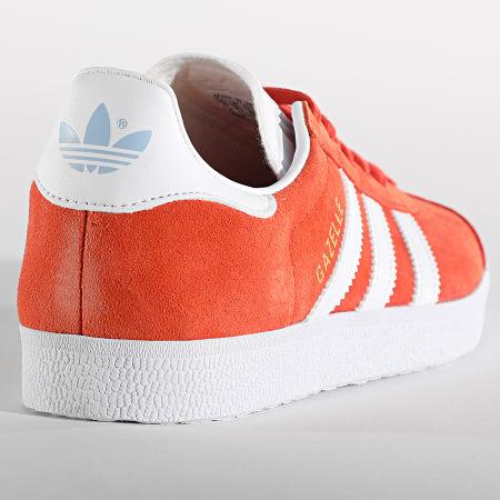 adidas - Baskets Femme Gazelle EF6511 Glory Amber Footwear White Glowing Blue