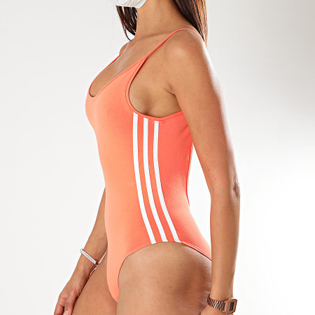 adidas - Body Femme A Bandes FM2578 Corail