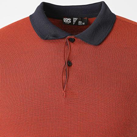 Classic Series - Polo Manches Courtes 2109 Rouge Brique