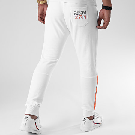 Final Club x NASA - Pantalon Jogging Space Exploration 360 Blanc