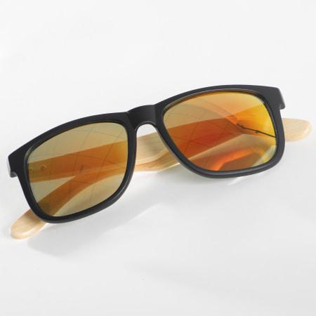 Classic Series - Lunettes De Soleil 025957 Orange Beige Noir