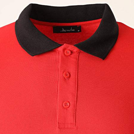 Armita - Polo Manches Courtes PJ-832 Rouge