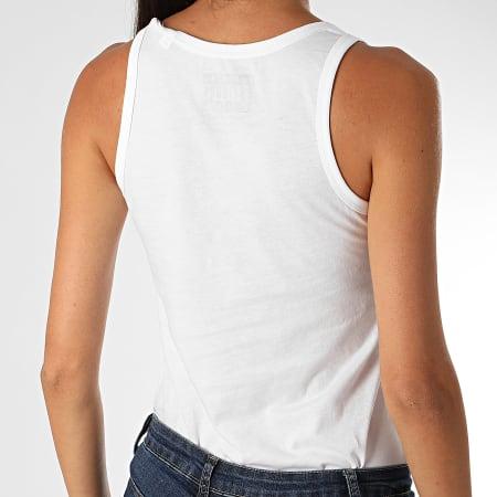 Parental Advisory - Débardeur Femme Logo Blanc