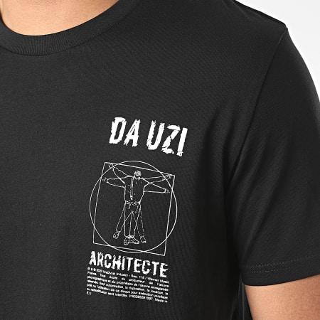 Da Uzi - Tee Shirt Logo Architecte Noir