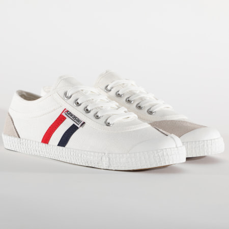 Kawasaki - Baskets Retro Canvas K192496 White
