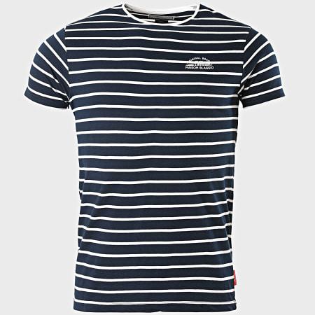 La Maison Blaggio - Tee Shirt Megali Bleu Marine